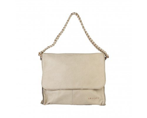 Дамска чанта Sisley бежова