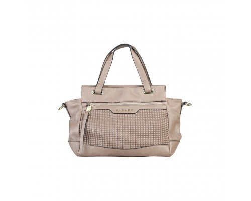Дамска чанта Sisley кафява модел Elly
