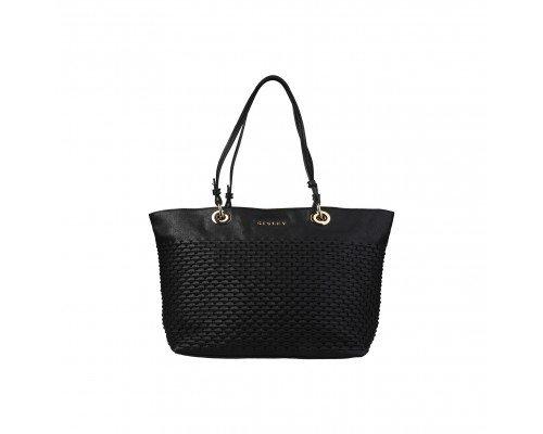 Дамска чанта Sisley черна модел Tenley