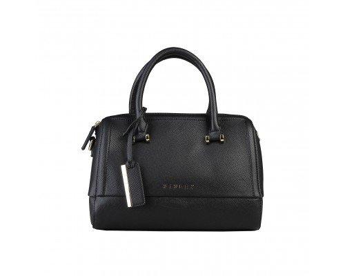 Дамска чанта Sisley черна модел Chantal
