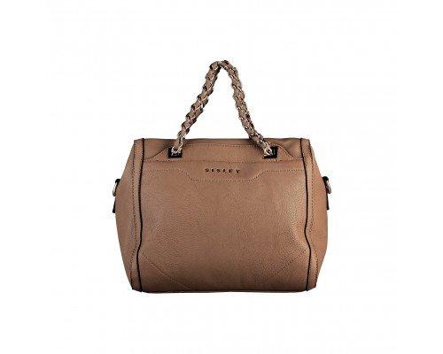 Дамска чанта Sisley кафява модел Achea