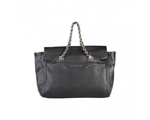 Дамска чанта Sisley черна модел Achea