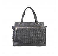 Дамска чанта Sisley черна модел Elly