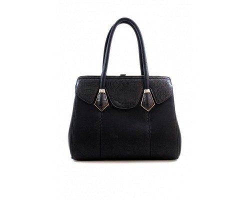 Дамска чанта Tom & Eva черна