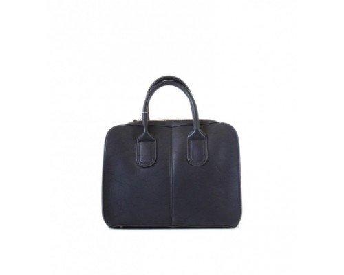 Дамска чанта Tom & Eva черна с две дръжки
