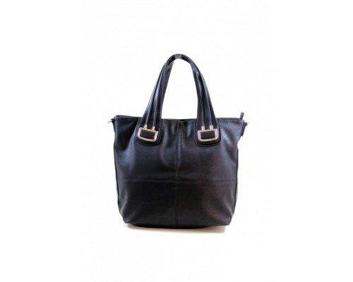 Дамска чанта Tom & Eva с две дръжки модел Black