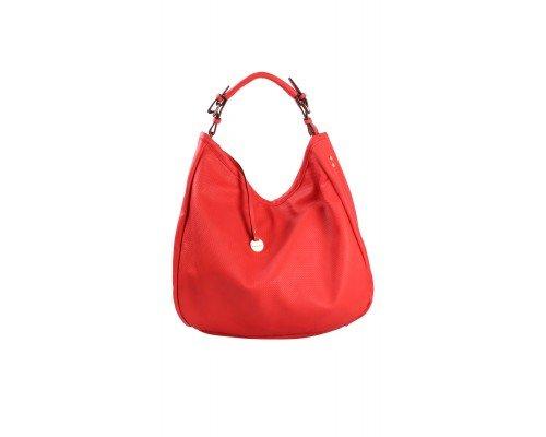 Дамска чанта Tom & Eva червена с една дръжка