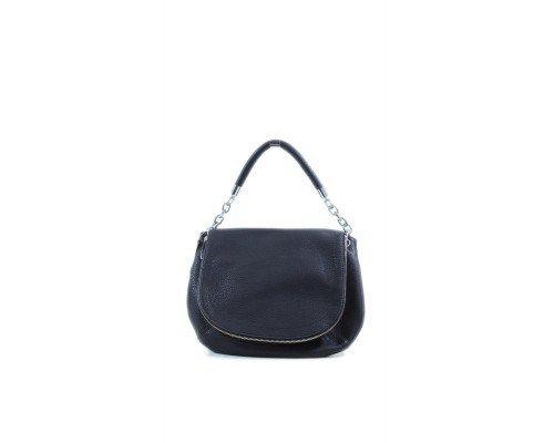 Дамска чанта Tom & Eva черна за рамо
