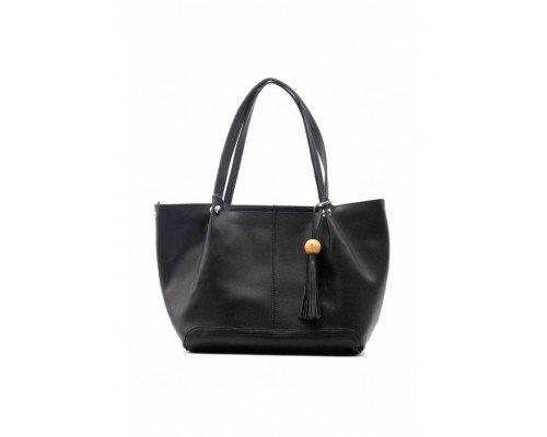 Дамска чанта Tom & Eva модел Black
