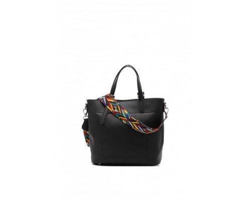 Дамска чанта Tom & Eva модел Black01