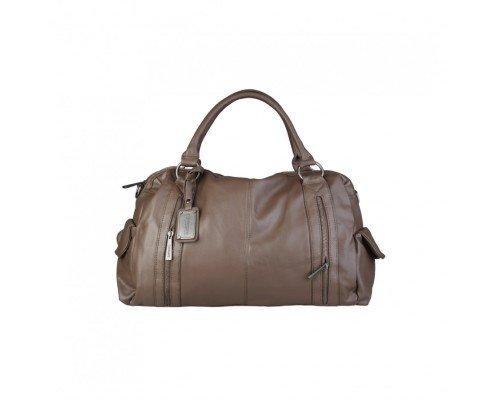 Дамска чанта Torrente модел Bianca тъмно кафява