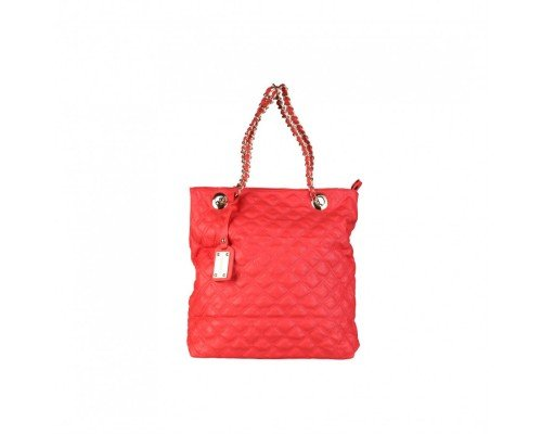 Дамска чанта Torrente с две дръжки червена