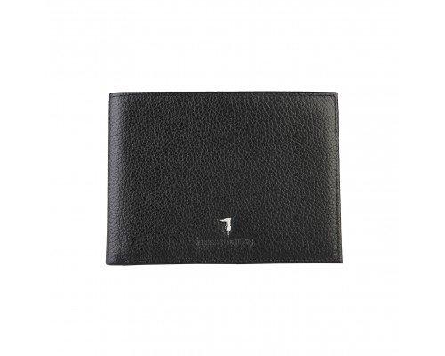 Мъжки портфейл Trussardi черен