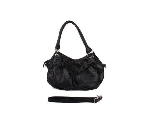 Дамска чанта Winston черна  с две дръжки