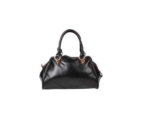 Дамска чанта с две дръжки черна Winston