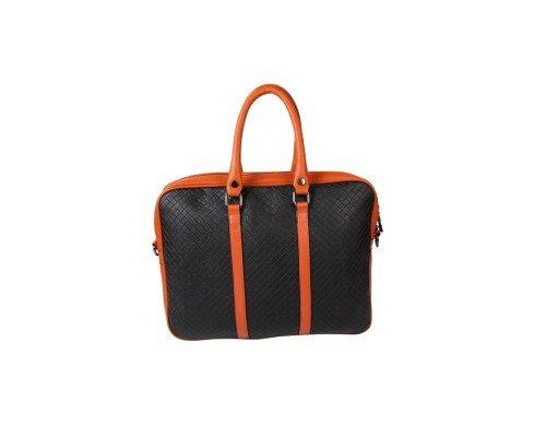 Дамска чанта Winston черно и кафяво